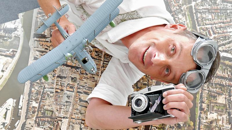 e71cd7ca001 De regio van boven tijdens themapresentatie luchtfotografie