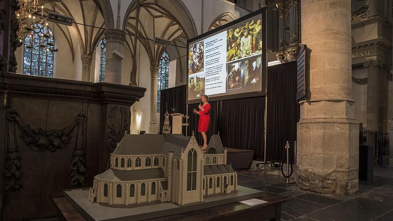 856ce42a820 Grote opkomst en veel ideeën tijdens brainstormsessie over jubileum Grote  Kerk
