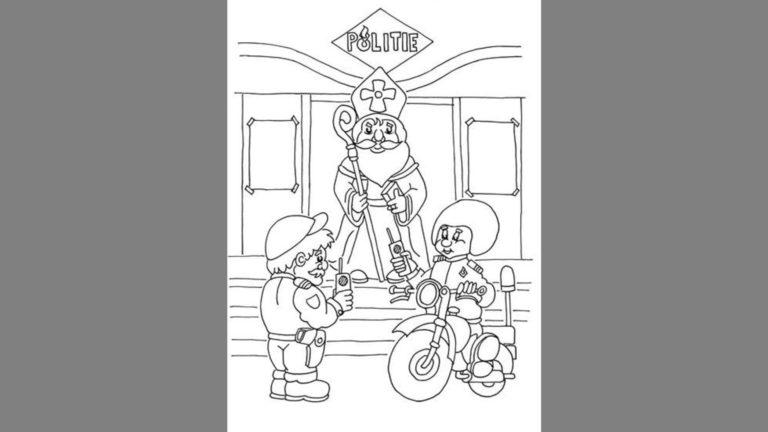 Kleurplaten Politie 112.Alkmaar Centraal Politie Vraagt Kinderen Om Met